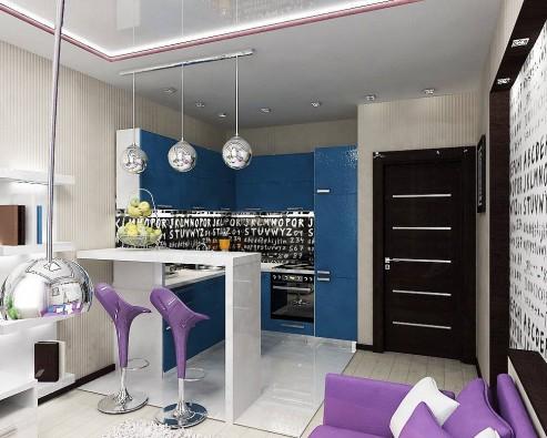 Ремонт кухни в квартире и частном доме