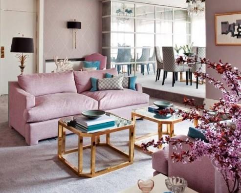 Цвета в интерьере комнаты, предназначенной для отдыха и развлечений