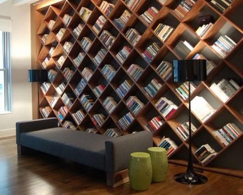 8 способов преобразить невзрачный книжный шкаф