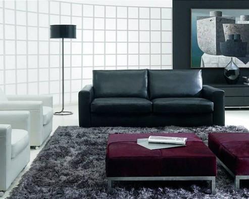 Дизайн интерьера в черном цвете