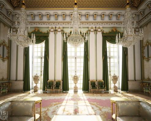 История дизайна интерьера: Эклектичный стиль Изабеллы (1833-1870)