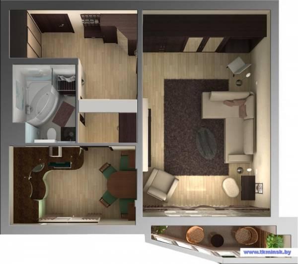 Ремонт в однокомнатной квартире. Часть 1