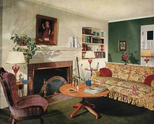 Дизайн интерьера в старинном стиле