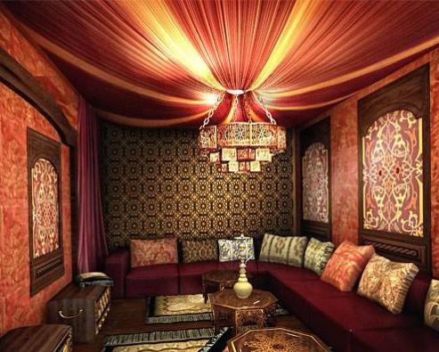 Дизайн интерьера в восточном стиле