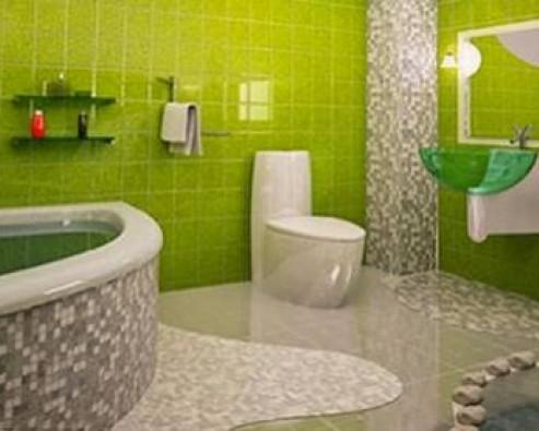 Установка сантехники в ванной комнате