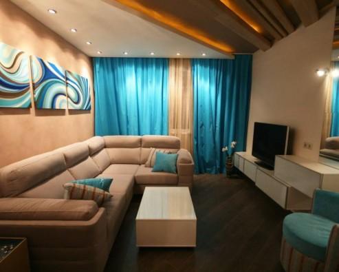 Ремонт гостиной и зала