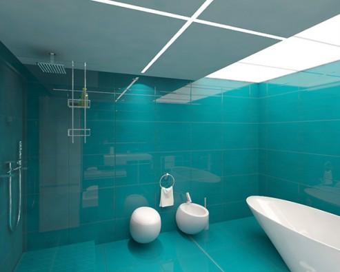 Дизайн в ванной комнате и туалете