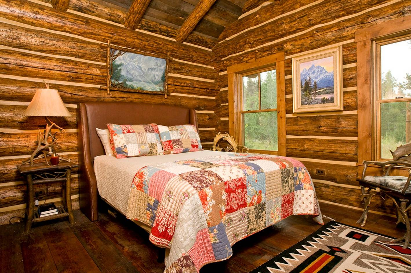 Деревенский дизайн дома