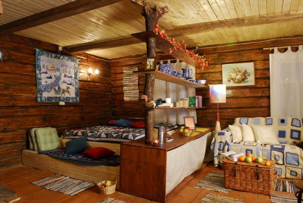 Интерьер и дизайн дачного дома