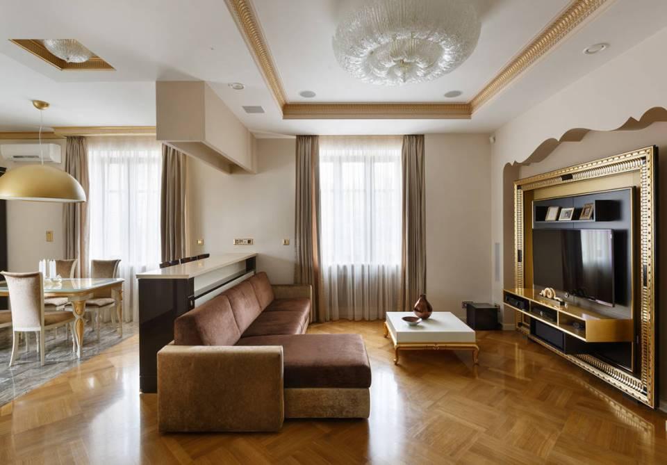 Дизайн ремонт трехкомнатной квартиры