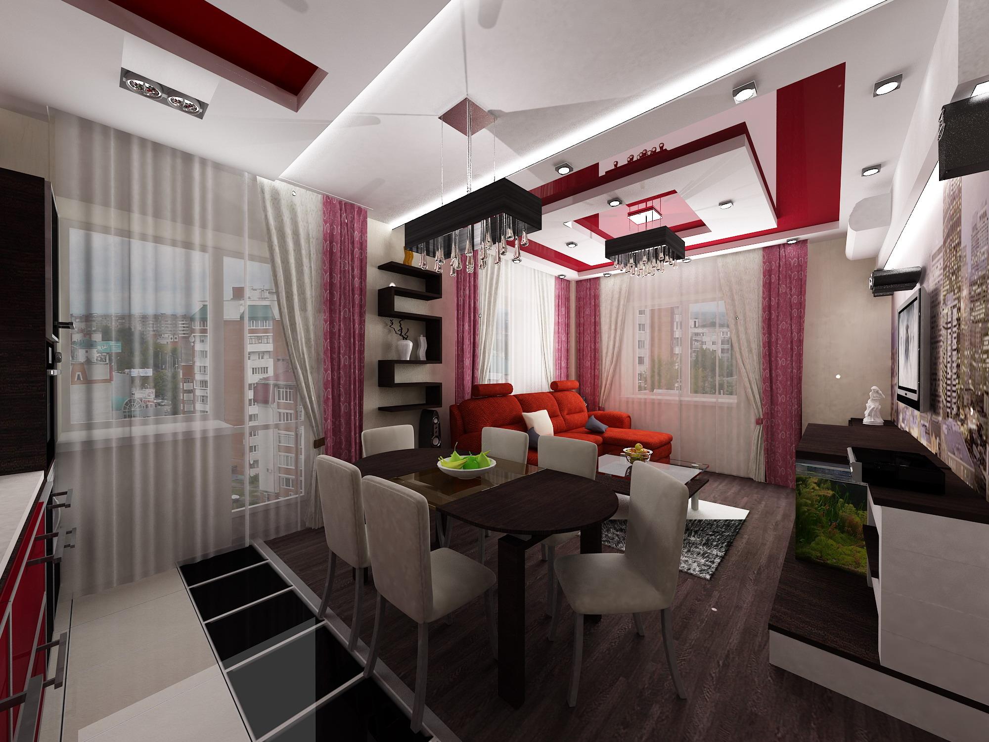 Дизайн 3 комнатной квартиры фото 80 кв
