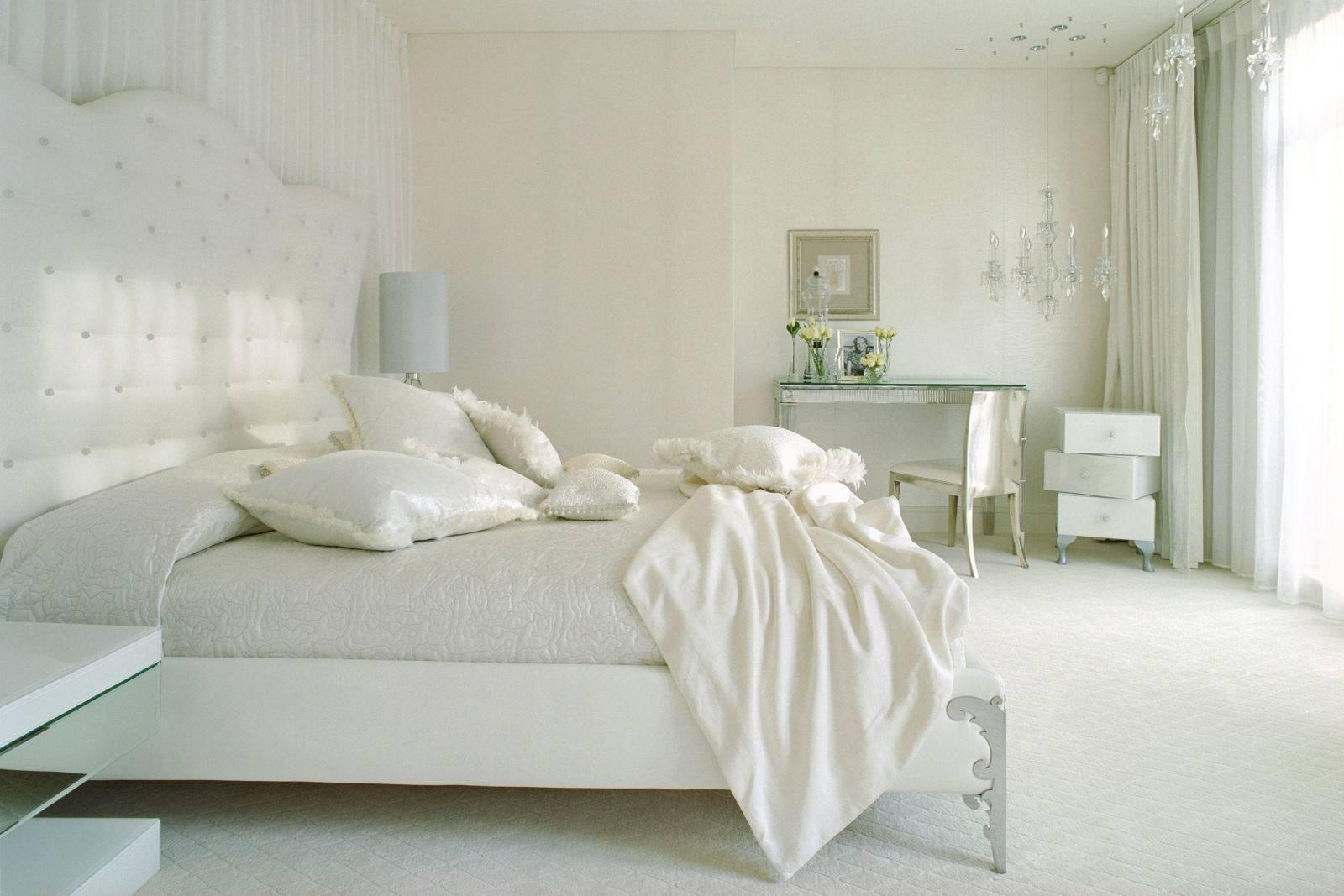 Дизайн белой комнаты фото
